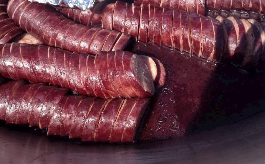 リオン風ワイン煮込み用サラミ